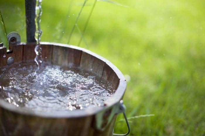 Чистая вода из колодца