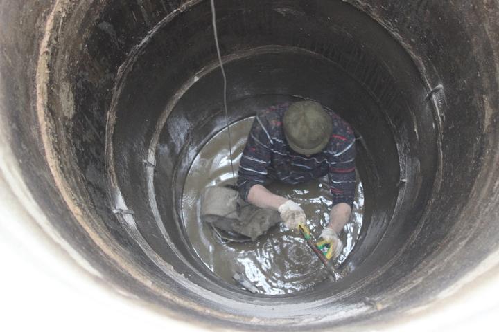 Цена на ремонт колодцев в Москве