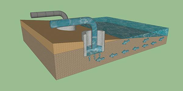 Опреснение воды ударной волной